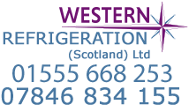 Call Western Refrigeration on 01555 668 253